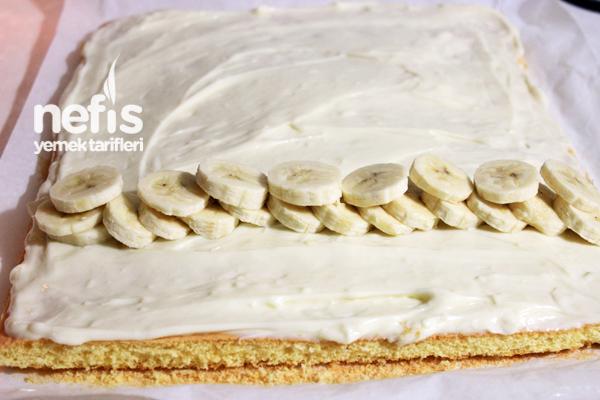 Muzlu Rulo Pasta Hazırlanışı 4