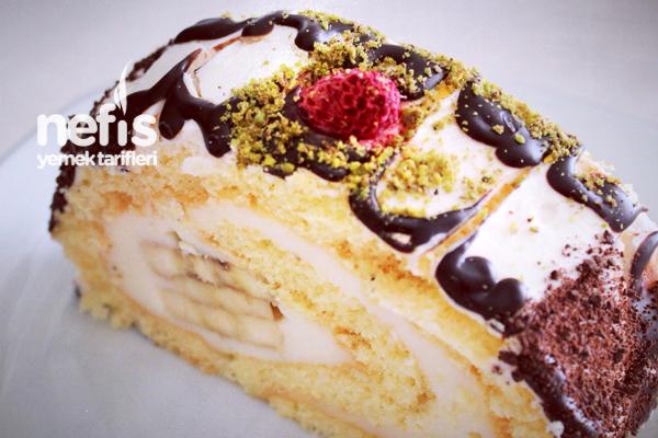 Muzlu Rulo Pasta Hazırlanışı - Nefis Yemek Tarifleri