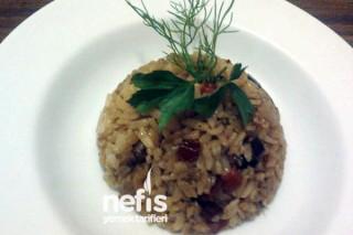 Patlıcanlı Pirinç Pilavı Yapımı Tarifi