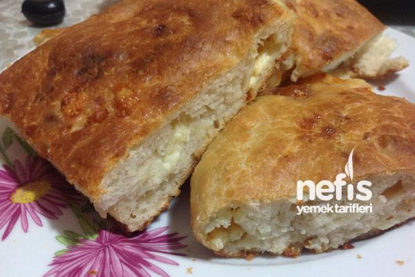 Peynirli Ekmek Tarifi 4