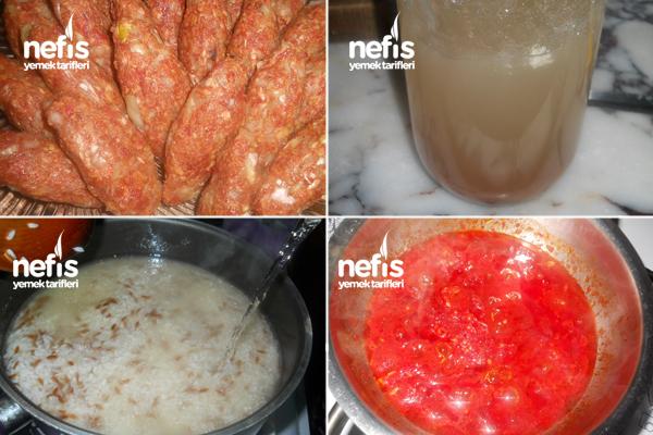 Pilav Yanında Köfte Patates Kabak 1