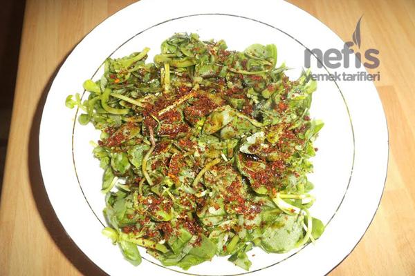 Pirpirim Salatası (Semiz Otu) Tarifi