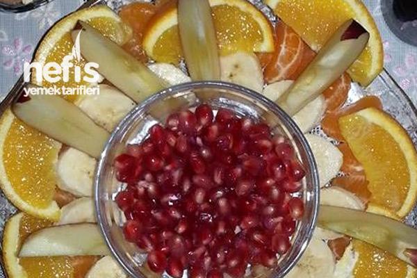 Pratik Meyve Tabağı Tarifi
