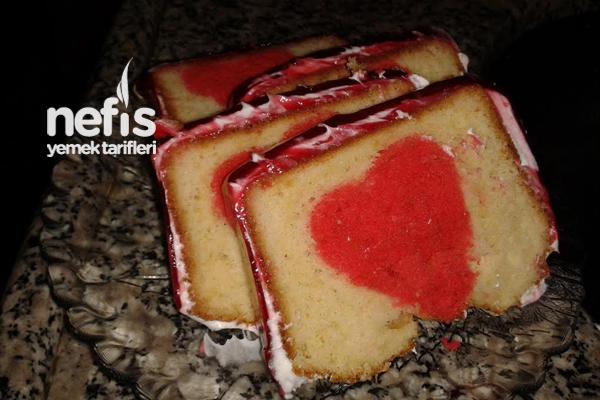 Saklı Kalp Pastası 21