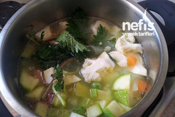 Sebze Çorbası (Bebekler İçin) 1