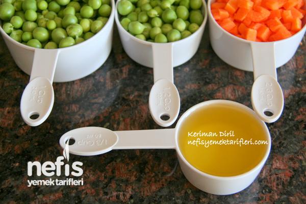 Sebzeli Bahar Pilavı (Zeytinyağlı) 1