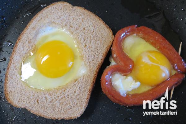 Sevgiliye Kahvaltı Tabağı 1