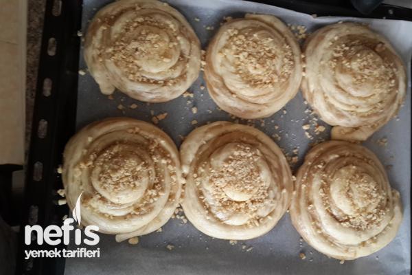 Tahinli Çörek Nasıl Yapılır? 7