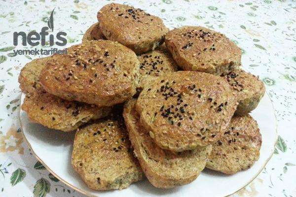 Tam Buğday Unlu Yeşil Mercimekli Çörek Tarifi