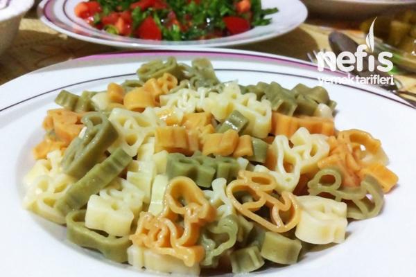 Tereyağlı Sebzeli Makarna - Nefis Yemek Tarifleri