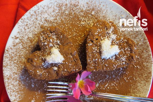 Unsuz Pasta - Çikolatali Kalpler