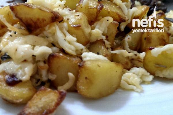 Acti-fry ile Hellim Peynirli Patates Tarifi