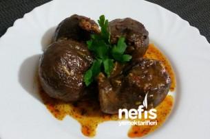 Adana Usulü Kuru Patlıcan Dolması