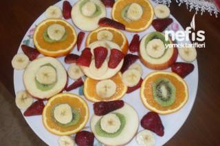 Atıştırmalık Meyve Tabağı Tarifi