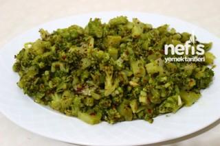 Brokoli Salatasının Yapılışı Tarifi