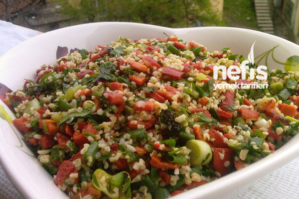 Bulgur Salatasının Tarifi