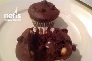 Çikolata Dolgulu Muffin (Hershey's Muffin) Tarifi