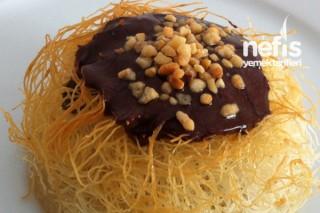 Çikolata Soslu Fincan Kadayıf Tarifi