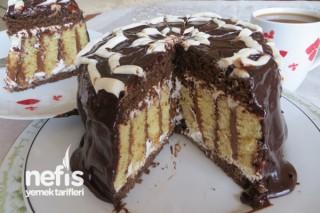 Dikey Rulo Pasta (Çikolatalı) Tarifi