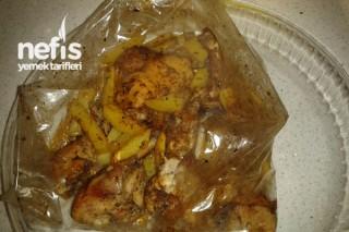 Fırın Poşetinde Tavuk Tarifi