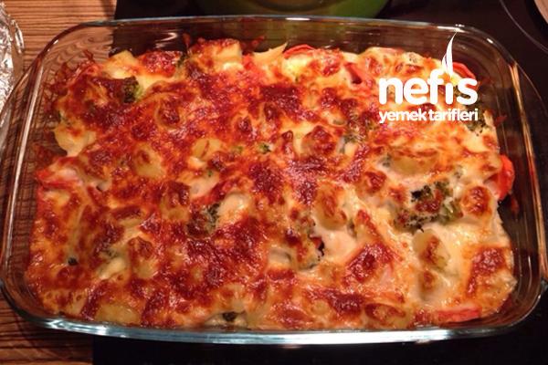 Fırında Brokoli Gratin (videolu)