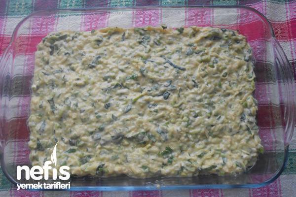 Fırında Kolay Sebzeli Mücver Böreği 3