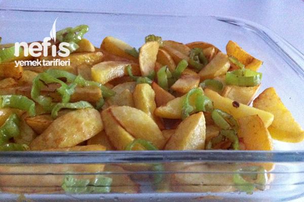 Fırında Soslu Patates Köfte 1