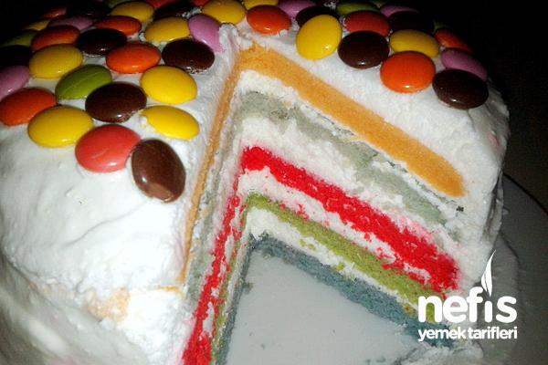 Gökkuşağı Pasta 1