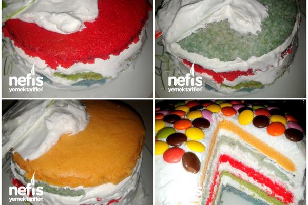 Gökkuşağı Pasta 4