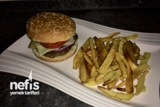 Hamburger ve Patates Kızartması Tarifi