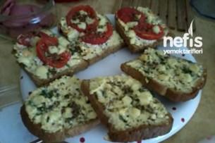 Kahvaltılık Ekmekler Yapılışı 1