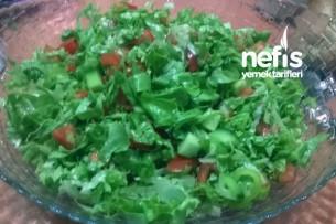 Kolay Yeşil Salata Tarifi