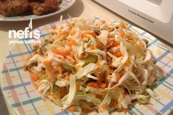 Lahana Salatasının Yapılışı