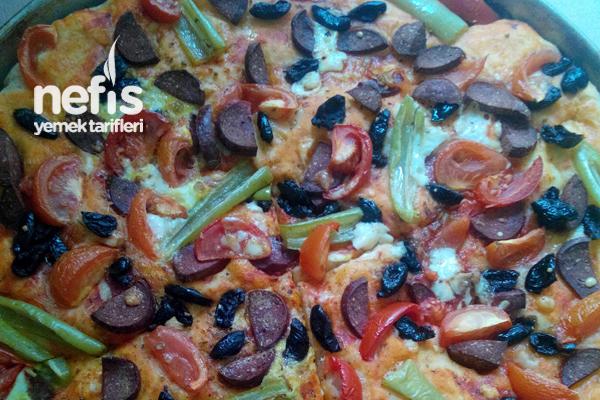 Lezzetli Pizza Tarifi