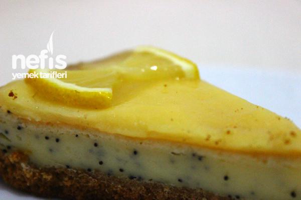 Limonlu Haşhaşlı Cheesecake (videolu)