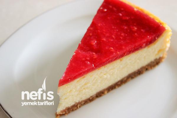 Meyve Soslu Cheesecake ve Yapım Aşamaları Tarifi