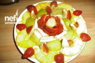 Meyve Tabağının Yapımı Tarifi