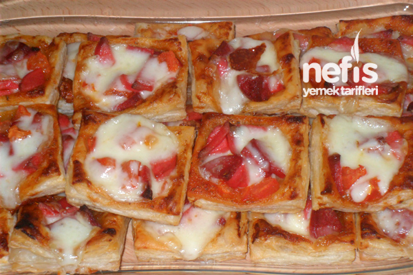Mini Milföy Pizza Tarifi