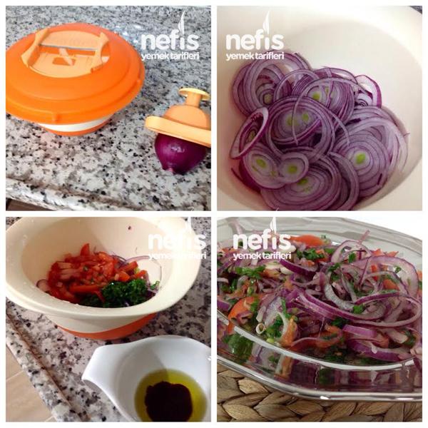 Nar Ekşili Soğan Salatası