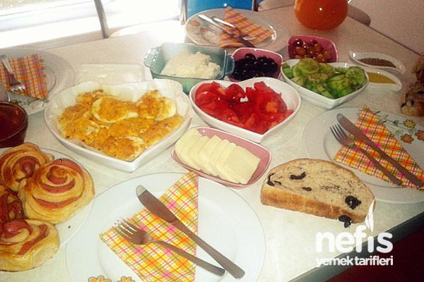 Pazar Kahvaltısı Tarifi (Menü)