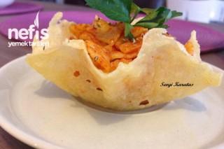 Peynir Kasesinde Salata Tarifi