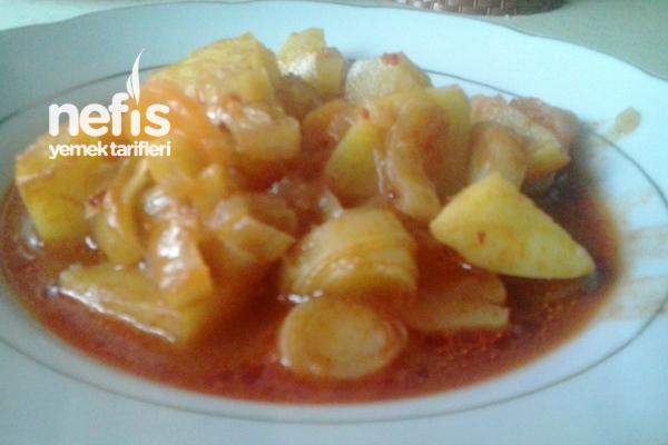 Pırasalı Patates Yemeği Tarifi