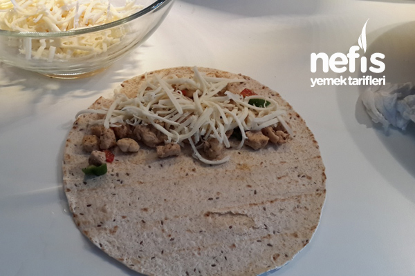 Quesedilla ( Meksika Yemeği) 2