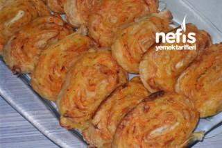 Rulo Börek (patates, kabak, havuç) Tarifi