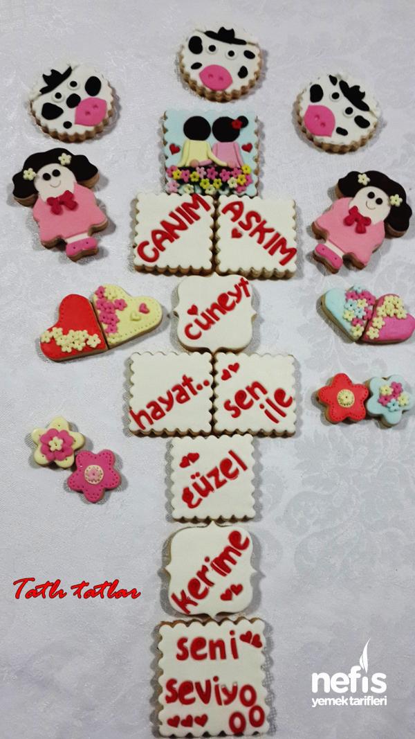 Şeker Hamurlu Kurabiye Yapılışı 6