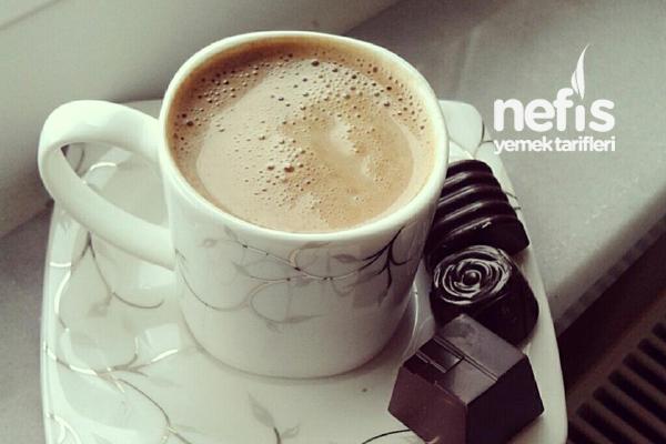 Sütlü Türk Kahvesi Yapılışı Tarifi