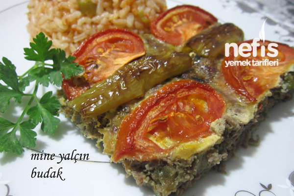 Tepside Patlıcanlı Köfte Tarifi