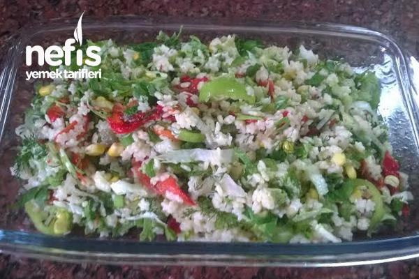 Yıldız Makarna Salatası Tarifi