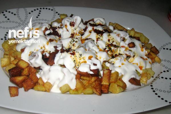 Yoğurtlu Patates Kızartması - Nefis Yemek Tarifleri