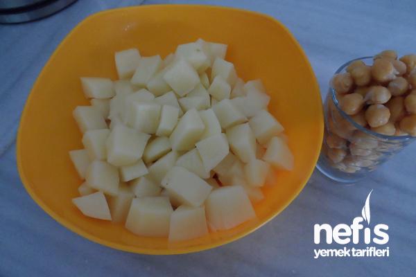 Yoğurtlu Patates Yemeği 1